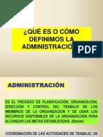 ADMINISTRACION - TIPO DE ORGANIZACIONES