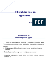 Well Completion Types and Applications
