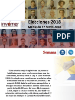 Encuesta, Mayo 2018