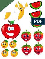 Frutas y Numeros de Alicia
