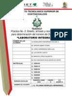 PRACTICA 3. Laboratorio integral