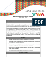 Plano de Trabalho Rede Juventude Viva Bahia