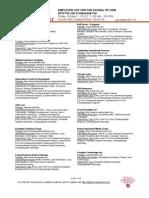 Employer List Fall Job and Internship Fair 2010 - CDM