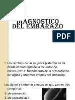 Dx Del Embarazo