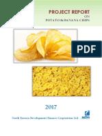 Potato and Banana Chips123