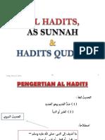 AL SUNNAH al hadits