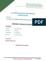 Estudio de Suelo - HUC0073