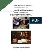 DIDÁCTICA UNIVERSITARIA