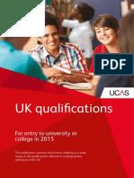 2015 Uk Qualifications