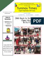 august sept 2017 newsletter