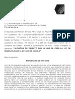 Decreto Por El Que Se Crea La Ley de Residuos Del Estado de Puebla