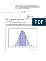 Random Fluctuations Result in a Distribution of Results When Making Repetitive Measurements