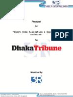 Proposal for Dhaka Tribune