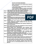 Rangkuman Shika (Kode Etik & Pedoman Disiplin Apoteker)