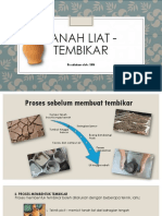 Tanah Liat - Tembikar