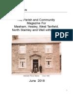 yoredale news parish magazine june 2018
