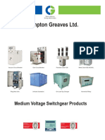 Medium Voltage Switchgear Products