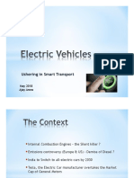 Disrupting Mobility - Electric Vehicles