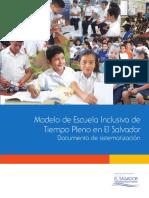 Modelo de Escuela Inclusiva De Tiempo Pleno en El Salvador