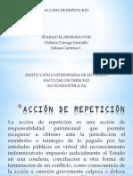 Accion de Repeticion