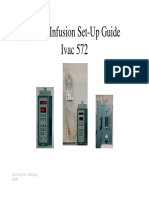 Alaris Ivac-572 - Set-up Guide