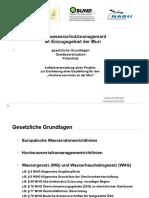 Vortrag Waldheim - Hochwasserschutzmanagement Im Einzugsgebiet Der Murr