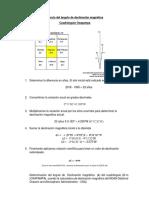 Cálculo Del Ángulo de Declinación Magnética