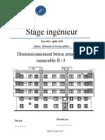A Rapport de Stage Mis en Page
