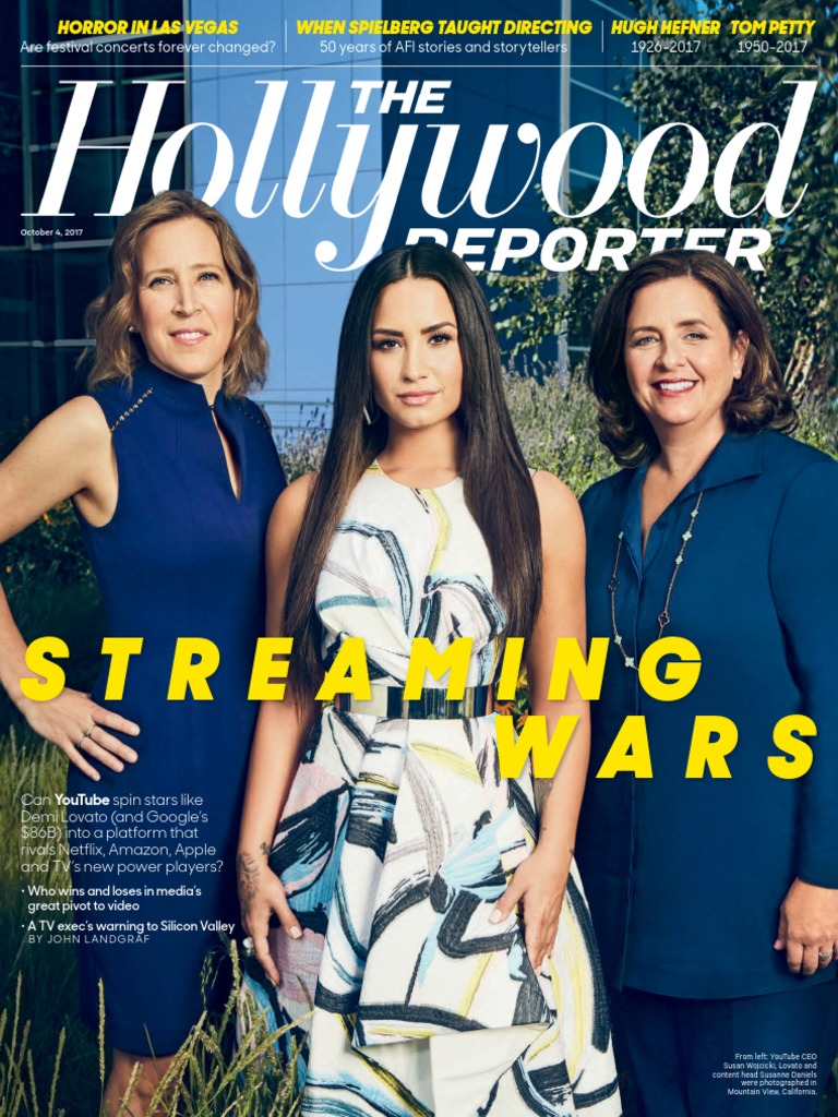 The Hollywood Reporter October 4 2017 | You Tube | Leisure
