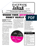 March 2007 Peaceways Newsletter, Central Kentucky Council for Peace and Justice