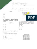No. 3 (Matemáticas 7)