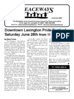 June-July 2008 Peaceways Newsletter, Central Kentucky Council for Peace and Justice