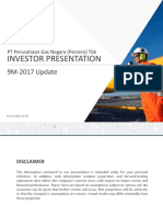 PGAS Business Presentation 9M-2017