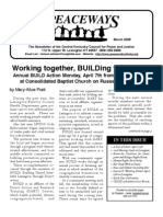 March 2008 Peaceways Newsletter, Central Kentucky Council for Peace and Justice