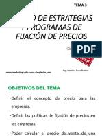 Tema 3 Diseño de Estrategias y Programas de Fijación De