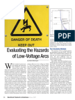 Hazards Low Voltage Arcs