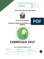 Plan Curricular Ingenieria Ambiental