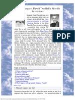 Psychic Margaret Flavell Tweddell's Afterlife Revelations