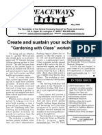 May 2009 Peaceways Newsletter, Central Kentucky Council for Peace and Justice