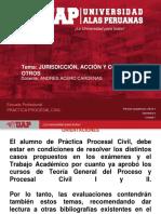 Derecho civil Jurisdicción, Acción, Competencia y Otros