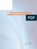 Potential for Enhanced Coalbed Methane Recovery -Ccc252