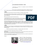 Plan de Desentoxicaccion Hepatico Biliar