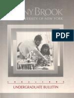 1993-95 Undergrad Bulletin