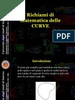 13 GCT LPV Richiami Matematica Curve