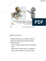 Introducción al SolidWorks