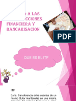 Itf y Bancarizacion