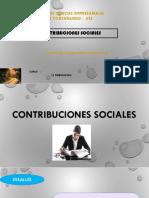 Contribuciones Sociales Uss