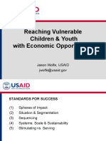 Reaching Vulnerable Children & Youth with Economic Opportunities