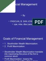 Financial Management Re Vie We