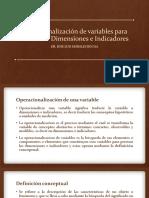 Investigacion 05 - Operacionalización de Variables